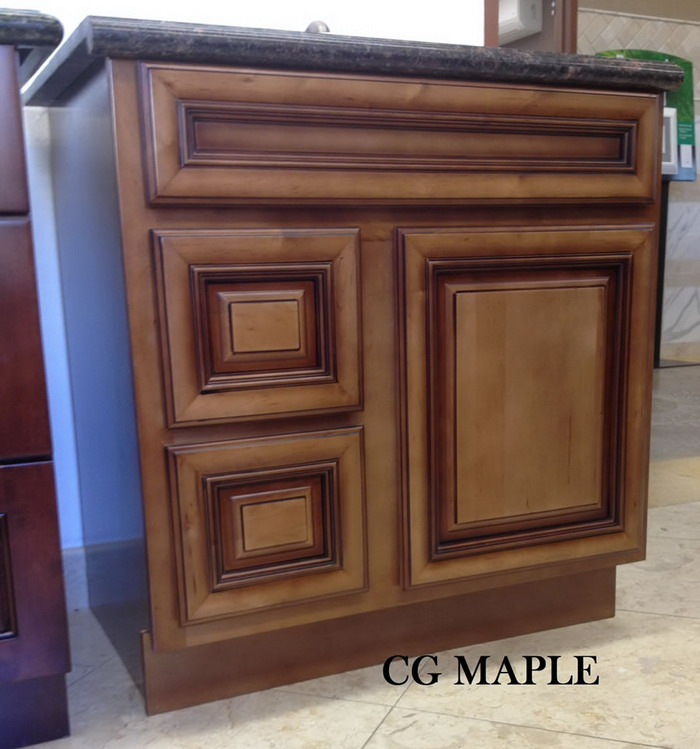 Kitchen Cabinets Oakland Ca: CG MAPLE-VANITY CABINET-marble Oakland,Kitchen Cabinet Oakland