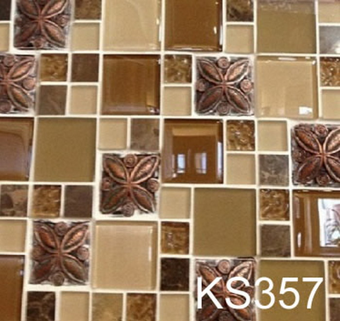 Kitchen Cabinets Oakland Ca: KS357-GLASS MOSAIC-marble Oakland,Kitchen Cabinet Oakland
